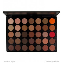 Paleta de 35 sombras Copper Blush Professional