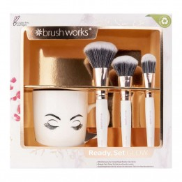 Set de regalo Brochas de rostro Brushworks