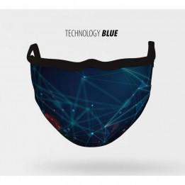 Mascarilla lavable Technology Blue S