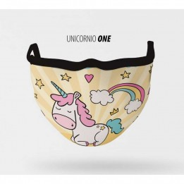 Mascarilla lavable Unicornio One XXS