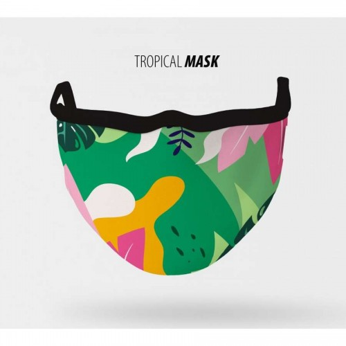 foto mascarilla lavable tropical mask