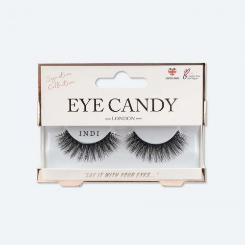 foto pestañas postizas eye candy signature collection indi