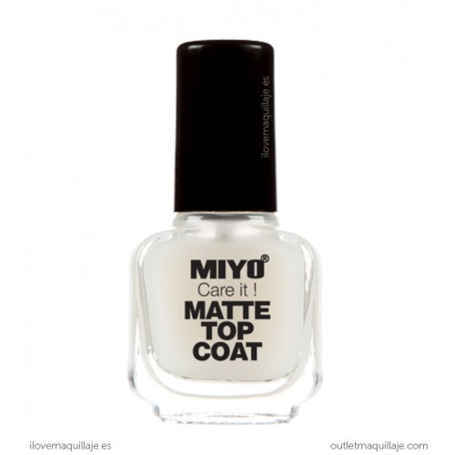 foto top coat care it matte miyo