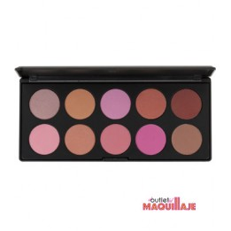 Paleta 10 coloretes Blush Professional