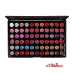 Paleta de labios de 66 colores Blush Professional