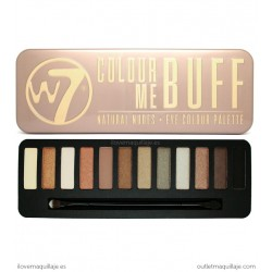 Paleta de sombras Colour Me Buff W7