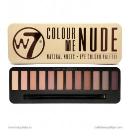 Paleta Colour Me Nude W7