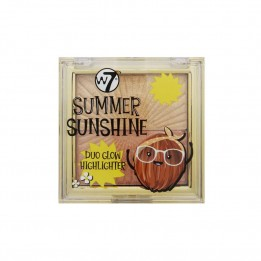 Iluminador doble Summer Sunshine W7