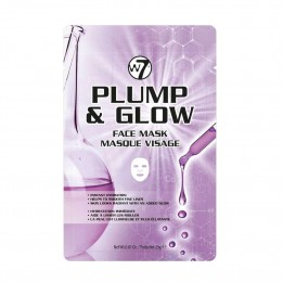 Mascarilla facial Plump & Glow W7