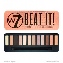 Paleta de sombras nude Beat It de W7
