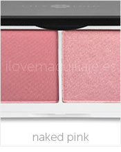 foto duo de coloretes lily naked pink