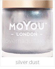 foto esmalte moyou london silver dust
